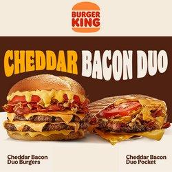 Oferty Restauracje i kawiarnie na ulotce Burger King ( Ważny 7 dni)