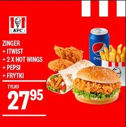 Gazetka KFC ( Ponad miesiąc )