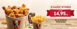 Oferty KFC na ulotce Warszawa