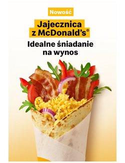 Oferty Restauracje i kawiarnie na ulotce McDonald's ( Wygasa dzisiaj)