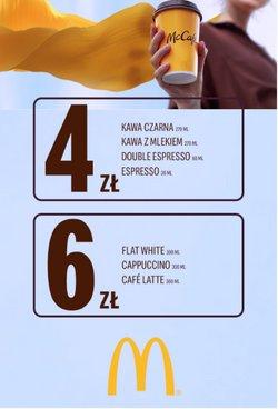 Oferty Restauracje i kawiarnie na ulotce McDonald's ( Ważny 13 dni)