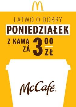 Oferty Restauracje i kawiarnie na ulotce McDonald's ( Ponad miesiąc)