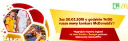 Oferty McDonald's na ulotce Warszawa