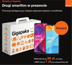 Oferty Elektronika i AGD na ulotce Orange ( Ważny 3 dni)