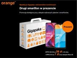Oferty Elektronika i AGD na ulotce Orange ( Ważny 4 dni)