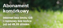 Oferty Orange na ulotce Warszawa