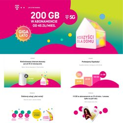 Oferty T-Mobile na ulotce T-Mobile ( Wygasłe)