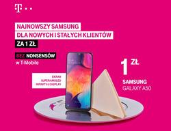 Oferty T-Mobile na ulotce Warszawa