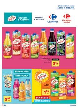 Oferty Carrefour Market na ulotce Carrefour Market ( Ważny 18 dni)