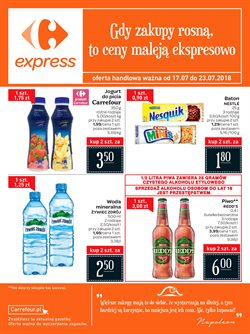 Oferty Carrefour Express na ulotce Lublin