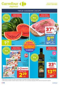 Oferty Carrefour Express na ulotce Carrefour Express ( Wygasa dzisiaj)