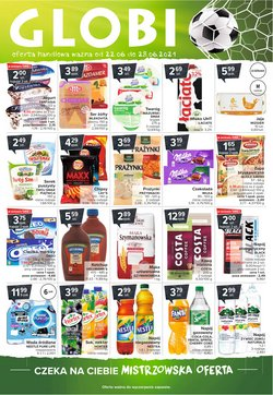 Oferty Supermarkety na ulotce Globi ( Wydany dzisiaj)