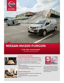 Oferty Nissan na ulotce Warszawa