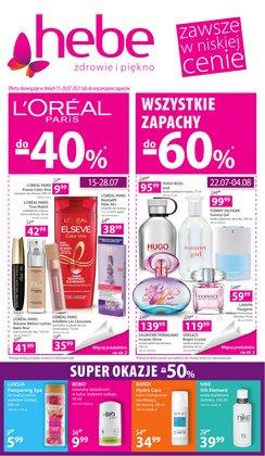 Oferty Perfumy i kosmetyki na ulotce Hebe ( Ważny 4 dni)