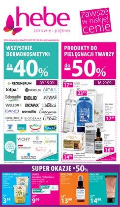 Oferty Perfumy i kosmetyki na ulotce Hebe ( Ważny 2 dni)