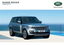 Oferty Land Rover na ulotce Warszawa