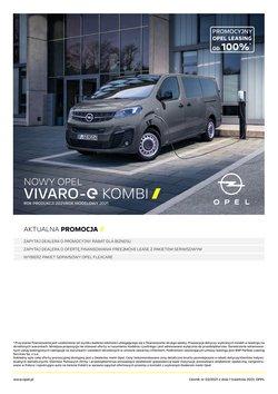 Oferty Samochody, motory i części samochodowe na ulotce Opel ( Ponad miesiąc)
