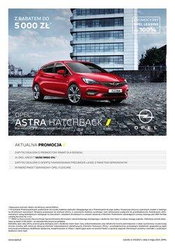 Oferty Opel na ulotce Opel ( Ponad miesiąc)