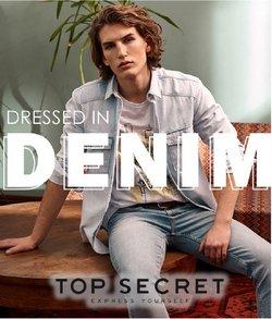 Oferty Ubrania, buty i akcesoria na ulotce Top Secret ( Wygasa jutro)