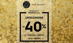 Oferty Top Secret na ulotce Sosnowiec