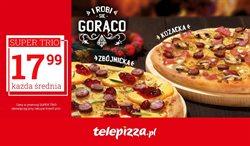 Oferty Restauracje i kawiarnie w Telepizza w Legnica ( Ponad miesiąc )