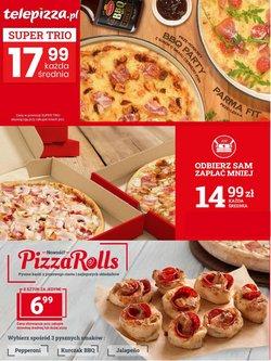 Oferty Restauracje i kawiarnie w Telepizza ( Ważny 16 dni )