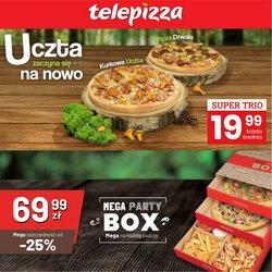 Oferty Telepizza na ulotce Telepizza ( Wydany wczoraj)