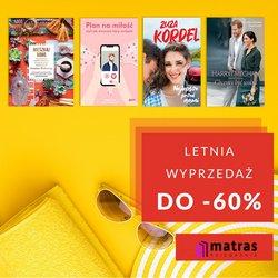 Oferty Książki i artykuły biurowe na ulotce Matras ( Wydany dzisiaj)