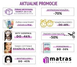 Oferty Książki i artykuły biurowe na ulotce Matras ( Ważny 15 dni)