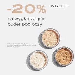 Oferty Inglot na ulotce Inglot ( Wygasa dzisiaj)