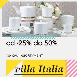 Oferty Villa Italia na ulotce Villa Italia ( Wygasłe)