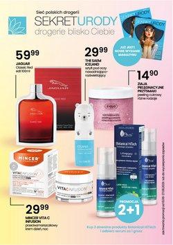 Oferty Perfumy i kosmetyki na ulotce Sekret Urody ( Ważny 5 dni)