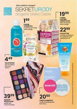 Oferty Perfumy i kosmetyki na ulotce Sekret Urody ( Ważny 3 dni)