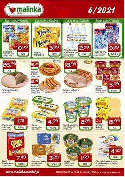 Oferty Supermarkety na ulotce Malinka Market ( Wydany dzisiaj)