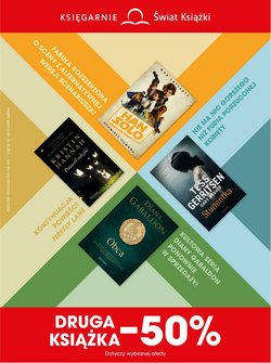 Oferty Książki i artykuły biurowe na ulotce Świat Książki ( Ważny 7 dni)