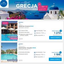 Oferty Podróże na ulotce Grecos Holiday ( Ważny 4 dni)