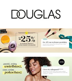 Oferty Perfumy i kosmetyki na ulotce Douglas ( Ważny 4 dni)