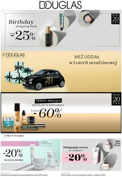 Oferty Perfumy i kosmetyki na ulotce Douglas ( Wydany dzisiaj)