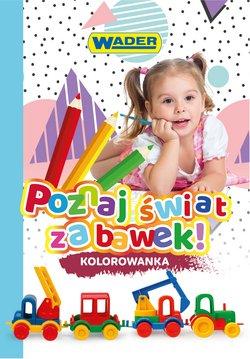 Oferty Dzieci i zabawki na ulotce Wader ( Ważny 3 dni)