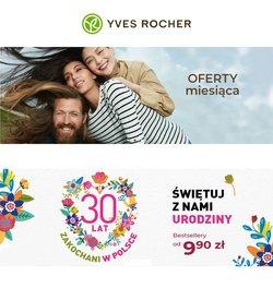 Oferty Perfumy i kosmetyki na ulotce Yves Rocher ( Wydany dzisiaj)