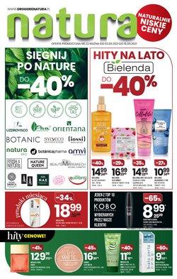 Oferty Perfumy i kosmetyki na ulotce Drogerie Natura ( Wygasa jutro)