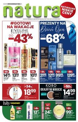 Oferty Perfumy i kosmetyki na ulotce Drogerie Natura ( Ważny 5 dni)