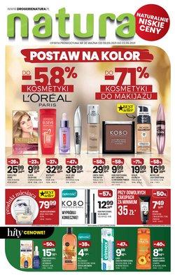 Oferty Perfumy i kosmetyki na ulotce Drogerie Natura ( Ważny 2 dni)