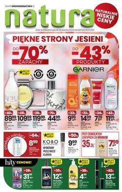 Oferty Perfumy i kosmetyki na ulotce Drogerie Natura ( Wydany dzisiaj)
