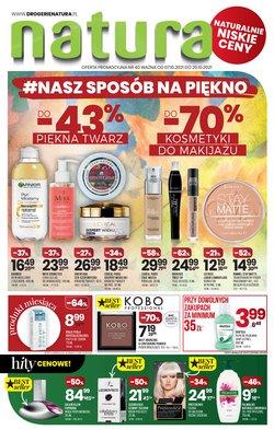 Oferty Perfumy i kosmetyki na ulotce Drogerie Natura ( Ważny 3 dni)