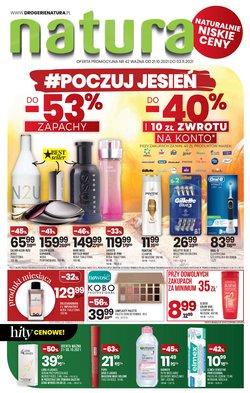 Oferty Perfumy i kosmetyki na ulotce Drogerie Natura ( Ważny 6 dni)