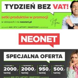 Oferty Elektronika i AGD na ulotce Neonet ( Wygasa jutro)