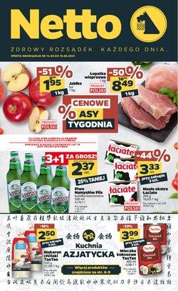 Oferty Supermarkety na ulotce Netto ( Wygasa dzisiaj)