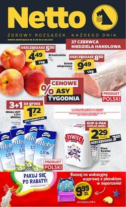 Oferty Supermarkety na ulotce Netto ( Ważny 2 dni)