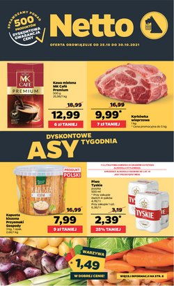 Oferty Supermarkety na ulotce Netto ( Wydany dzisiaj)